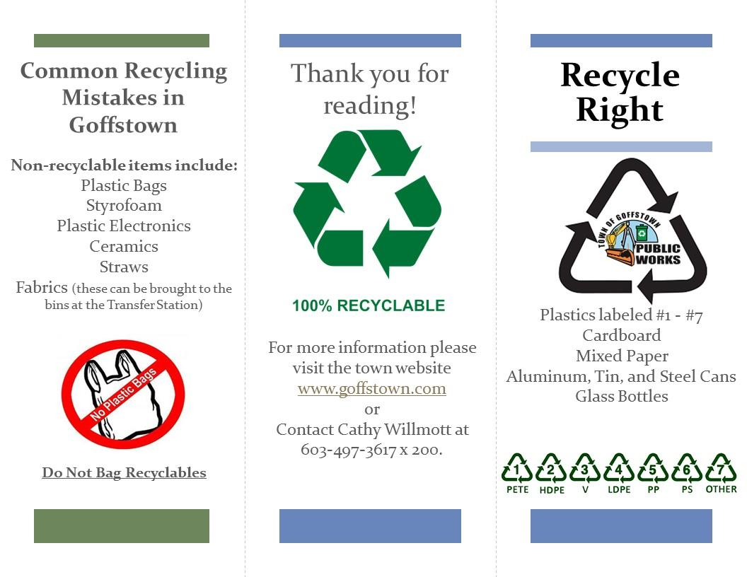 Recycle Brochure Aug 2018 2
